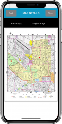 Disaster Surveyor View Downloaded PDF maps