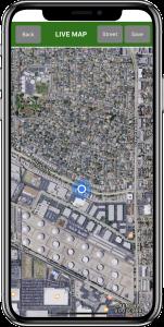 Figure 36. Live map