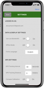 Figure 47. App Settings